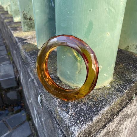 【Used】Crystal acrylic bangle / アクリルバングル