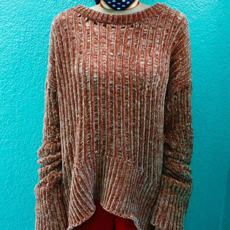 【Used】Chunky knit tops / チャンキーニットトップス