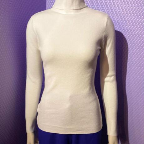 【migration】Color turtleneck knit tops / カラータートルネックニットトップス / mg425