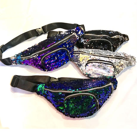 【Selected item】Spangles waist pouch / スパンコールウエストポーチ / mg210