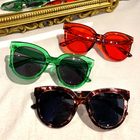 【Selected Item】color flame sunglasses / カラーフレームサングラス / mg-202
