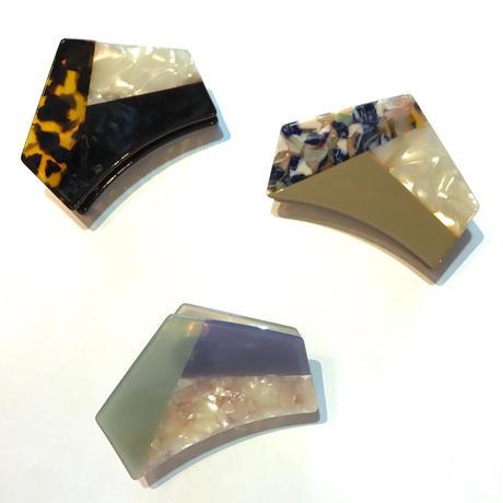 【Selected item】Bi-color hair clip / バイカラーヘアクリップ / mg