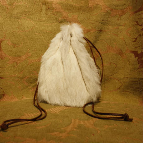 Vintage Real Fur Leather Bag