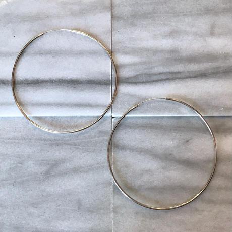 【Selected item】silver 925 loop  pierce / ループシルバーピアス