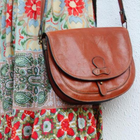 【Used】Leather shoulder bag/レザーショルダーバッグ