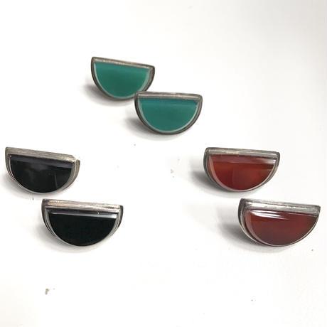 【Selected item】Silver 925 stone pierce / シルバー石ピアス