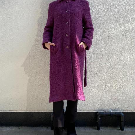 【Used】Raspberry fluffy coat / ラズベリーモコモココート