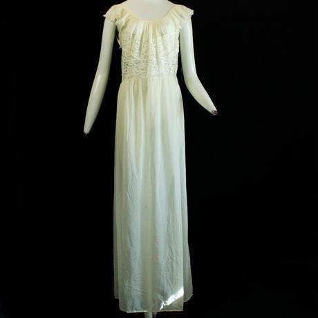 Vintage Yellow Lingerie Dress