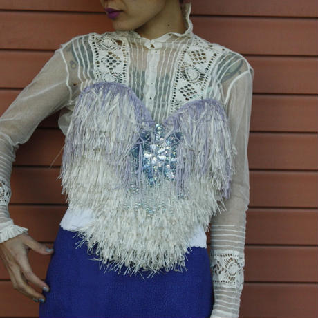 1920's Antique lace blouse