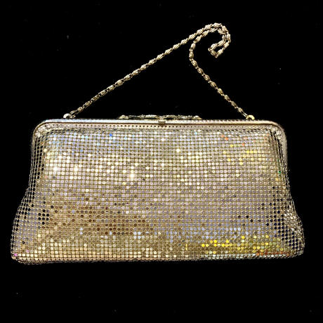 【Used Item】Silver shine hand bag / シルバーハンドバッグ