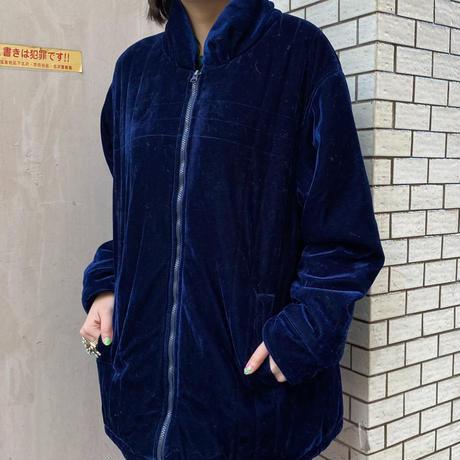 【Used】Velours jacket / ベロア中綿ジャケット