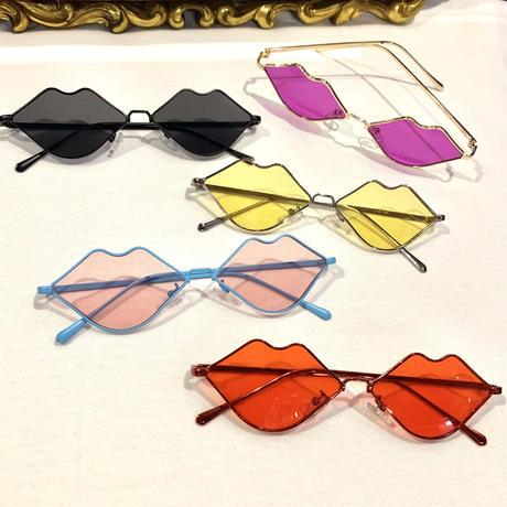 【Selected Item】Lip design sunglasses / リップ型サングラス / mg-201