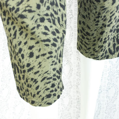 1980's Vintage Leopard Easy Pants