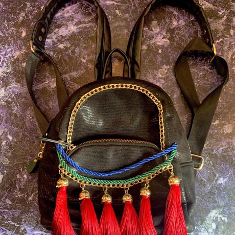 【Used】fringe chain bag/フリンジチェーン付きバック