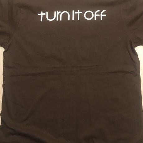 """turn it off""Pocket T-Shirt (2色)"