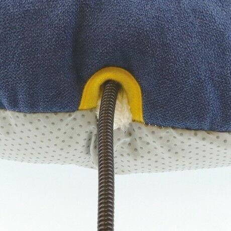 【Cuna】もぐりこみベッドAWVブルー&イエロー,あったベッド