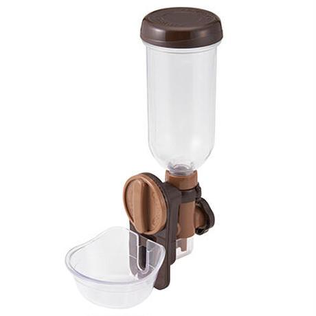 【ラクリア】お皿型給水器(専用ボトル付)