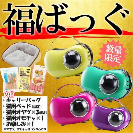 【福ばっぐ】福がいっぱい詰まったピーポット型キャリーバックの福袋!各色あります※数量限定