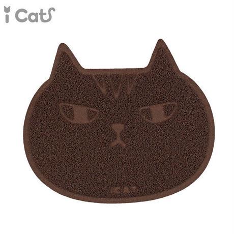砂取りマット ,キャットフェイス ,猫のトイレ前に,猫砂の飛び散り防止