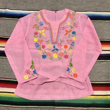 フィリピン製 手縫い刺繍 チュニック トップス