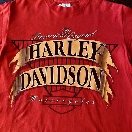 1992 Made in USA HARLEY DAVIDSON Tシャツ