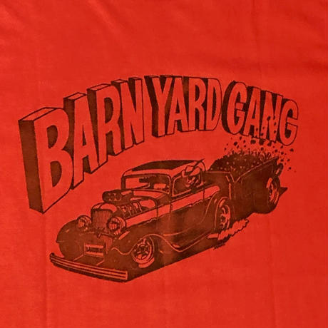 Made in USA BARN YARD GANG オールドTシャツ