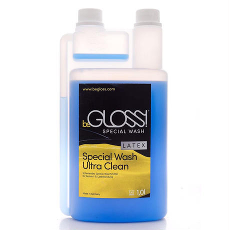 beGLOSS  Special  Wash  Latex 1000ml -ラバー ゴム ラテックス 製品専用洗剤 【税抜価格】¥5,800