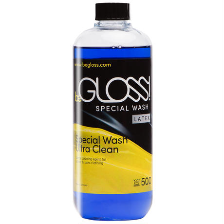 beGLOSS Special Wash Latex 500ml -ラバー ゴム ラテックス 製品専用洗剤 【税抜価格】¥3800