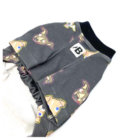 変なイタグレさんTシャツ【 by Paisen (dark gray)】
