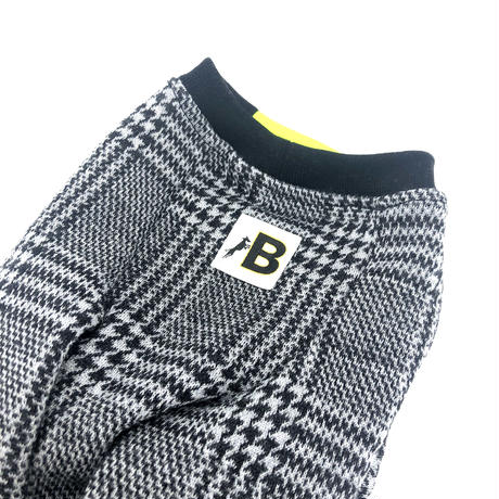 Glen check Knit