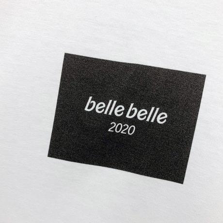 belle belle (ベルベル)  BOX  Rogo ロンT ホワイト