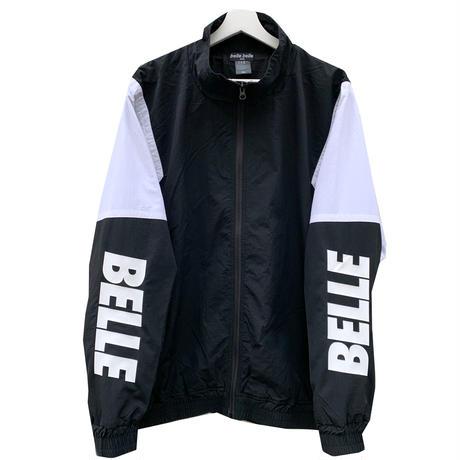 belle belle (ベルベル) arm Rogo ナイロン ジャケット ブラック