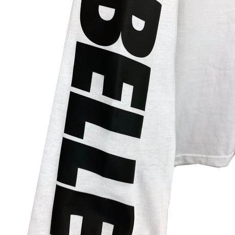 belle belle (ベルベル)  arm Rogo ロンT ホワイト