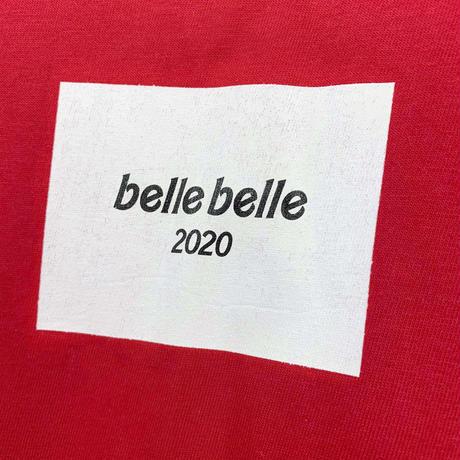 belle belle (ベルベル)  BOX  Rogo ロンT レッド
