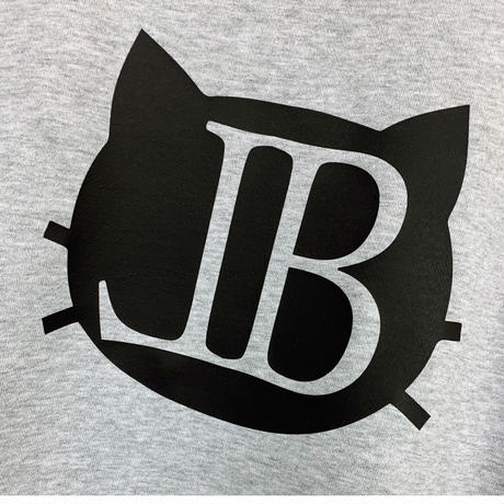 belle belle (ベルベル) BL cat Emblem トレーナー  グレイ
