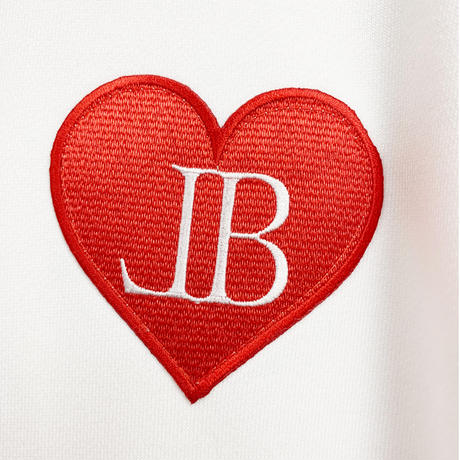 belle belle (ベルベル) BL heart Emblem トレーナー ホワイト