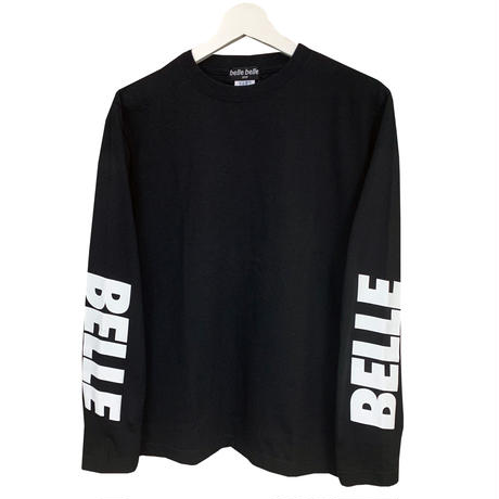 belle belle (ベルベル)  arm Rogo ロンT ブラック