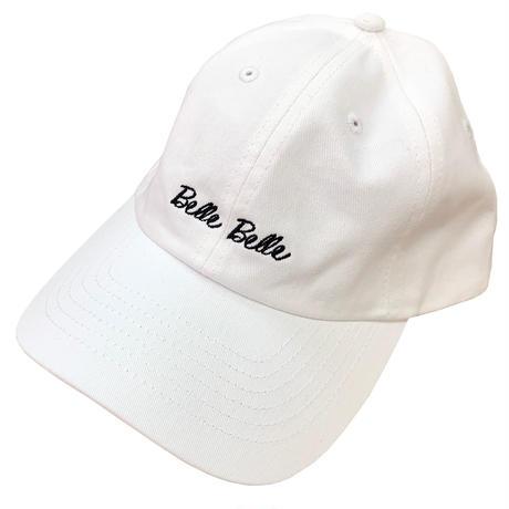 belle belle (ベルベル) Rogo キャップ ホワイト