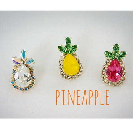 PINEPPLE〜large〜(片耳)