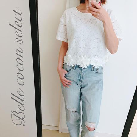 cutting lace  blouse