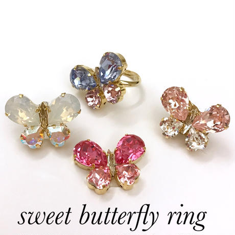 sweet butterfly ring