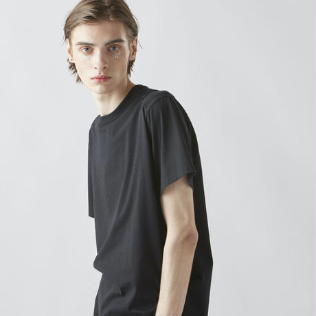 INVISIBLE TYPO T-SHIRTS  (BLACK)