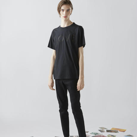EMBROIDERY  LOVE T-SHIRTS (BLACK)