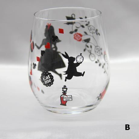 【全2種類】不思議の国 ぽっちゃりグラス