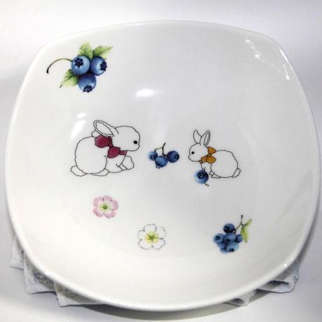 【全2色】うさぎのお皿