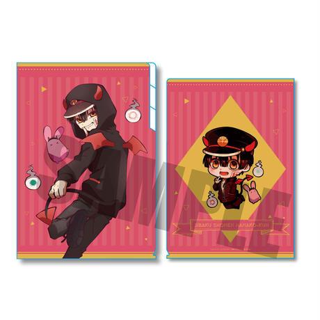 クリアファイル3ポケット 地縛少年花子くん 小悪魔パーカーver./花子くん(小悪魔もっけ)