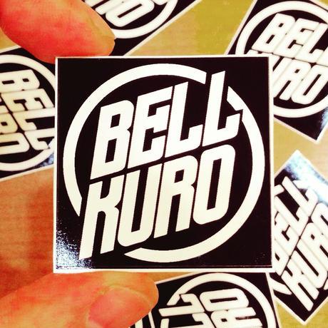 bellkuro ロゴマーク シール(2枚入り)