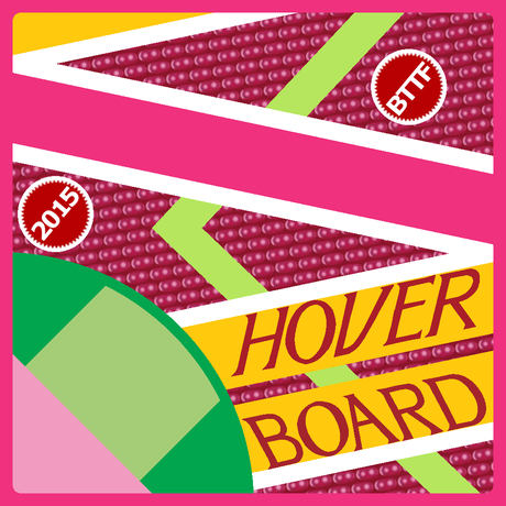 Hover Board 缶バッジ