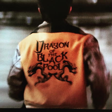DRAGON OF THE BLACK POOLトートバッグ