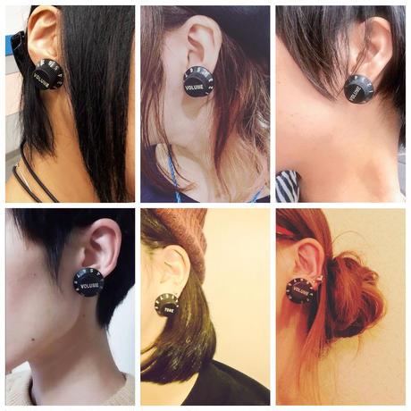 VOLUME&TONE ピアス